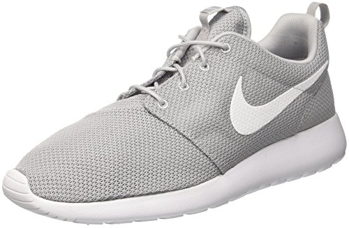 Nike Mens Roshe One Running Shoes Wolf Grey/White 511881-023 Size 11 (Nike Shoes Grey Roshe)