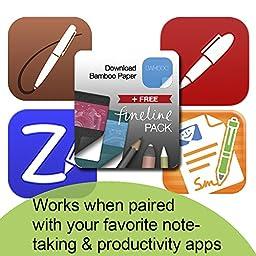Wacom Bamboo Stylus fineline for iPad 3/4, iPad Air and iPad mini - Pink (CS600CP)