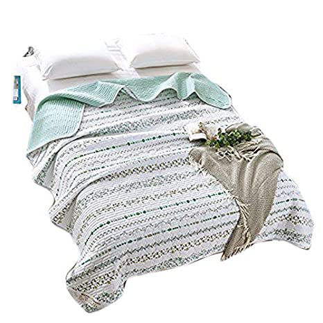 Amazon.com: KFZ hydro-cotton colcha de verano edredón colcha ...