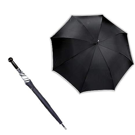 KWON paraguas de Defensa Personal, color: negro