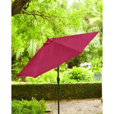 Hampton Bay 9 ft. Aluminum Patio Umbrella