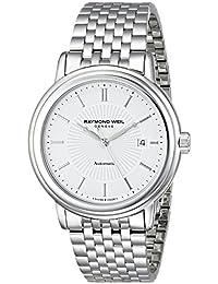 Men's 2847-ST-30001 Maestro Analog Display Swiss Automatic Silver Watch