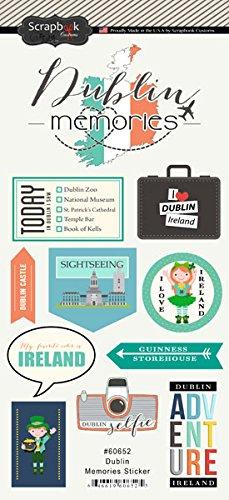 Dublin Ireland Memories Cardstock Scrapbook Stickers (60652)