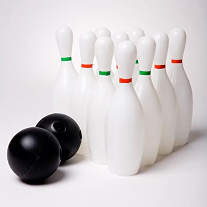 Amazon Rhode Island Novelty Miniature Bowling Set Toys Games
