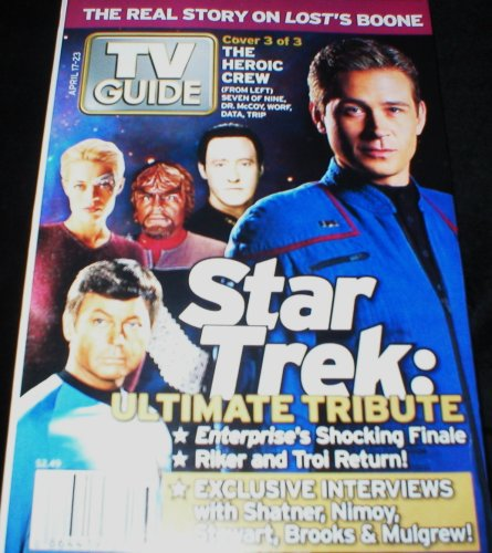 Download TV Guide Magazine April 17 2005 Star Trek Tribute: The Crew (Single Back Issue) PDF