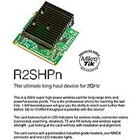 Mikrotik R2SHPn 2.4 GHz MiniPCI card 1600 mW TX, 802.11b/g/n, MMCX connector