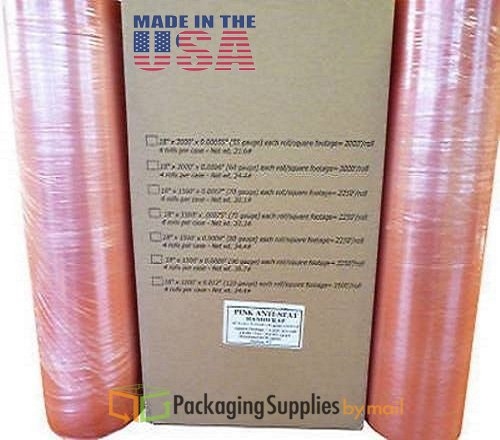 ft Anti-Static Cast Hand Stretch Film 4 Rolls/Case (Anti Static Cast)
