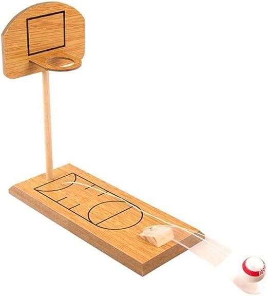 QueenHome - Mini futbolín de Baloncesto, Mesa portátil para Jugar ...