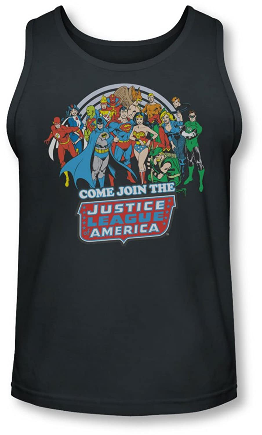 Dc - Mens Join The Justice League Tank-Top