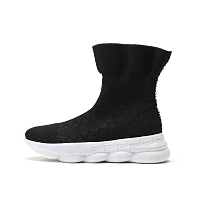 0910a12c92cee Amazon.com : Hy Women's Socks Shoes Spring/Fall Knit Comfort ...