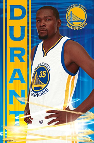 NBA 22x34 Golden State Warriors Room Wall Poster Print Kevin Duran Basketball 882663051168 | eBay