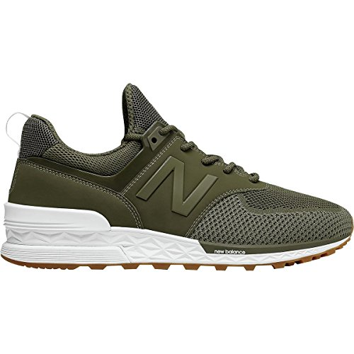 bianco adulti New Balance fsg sneakers Ms574 Sport misto a verde d oliva per fondo qOvp1qnwx