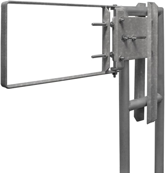 B000YFZCG8 Fabenco A71-33 A-Series The Original Self-Closing Safety Gate, 34 to 36.5-Inch x 12-Inch, Galvanized A36 Carbon Steel 51ZfdfNti1L