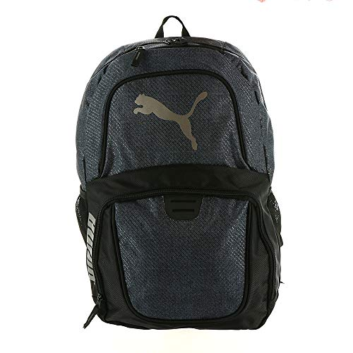 PUMA PV1673 Contender 3.0 Backpack Iron-Black Heather-Black-Silver