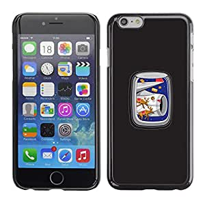 Ihec Tech Christmas Air Plane Window - Funny / Funda Case back Cover guard / for Apple Iphone 6 Plus 5.5
