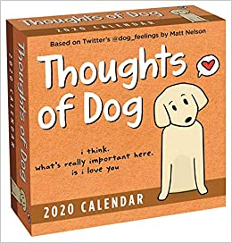 Dog Food Recall List 2020.Thoughts Of Dog 2020 Day To Day Calendar Matt Nelson