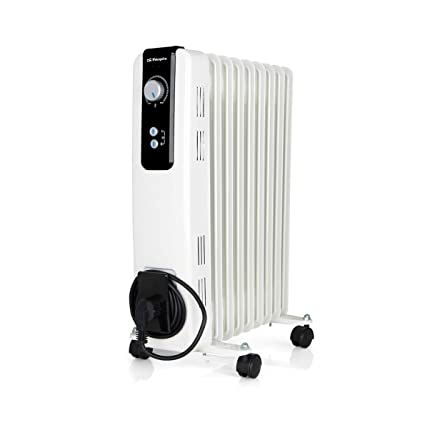 Orbegozo RH 2000 Radiador de Aceite, 2000W de Potencia, 9 Elementos y diseño en