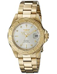 Invicta Men's 9010SYB Pro Diver Analog Display Automatic Self Wind Gold Watch