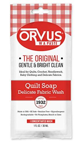 Orvus W.A. Paste Quilt Soap - 1 oz. Single - Quilt Soap