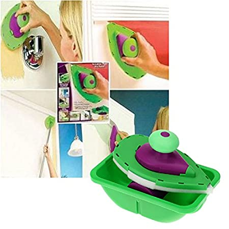 Decorative Paint Roller And Tray Set Paint Pad Pro Painting Brush Point N  Paint Household Wall