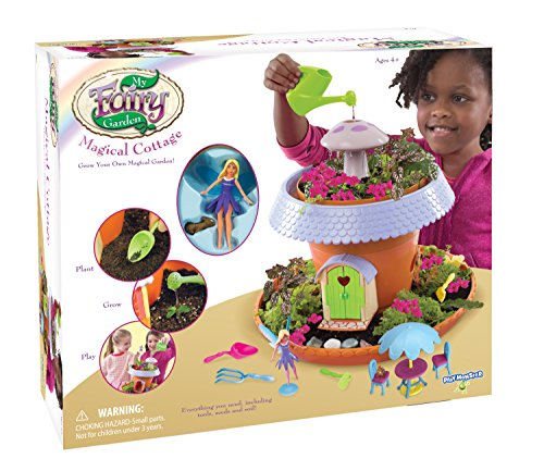 Enchanted Fairy Garden Kit (My Fairy Garden - Magical Cottage)