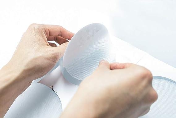 simpleheroes 10x Anti Rutsch Sticker, Rutschstopper für Dusche und Badewanne - selbstklebend, transparent, rund, 10cm Durchme
