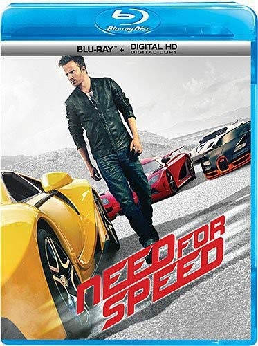 Need for Speed (Blu-ray + Digital HD) (List Of Characters Created By Walt Disney)
