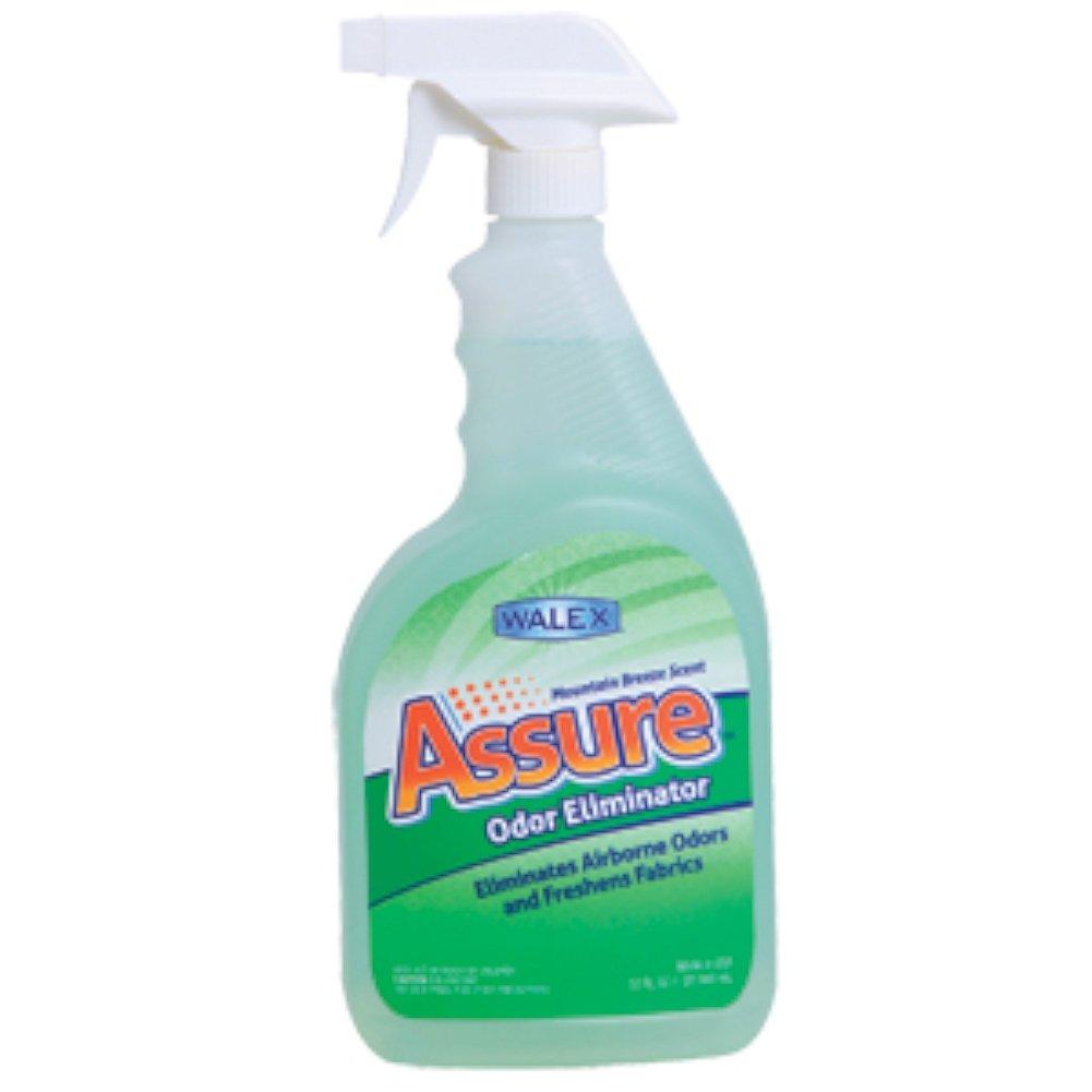 Walex ASSURERV32ounce Assure Odor Eliminator Spray, (Pack of 6)