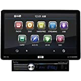 SOUND STORM SD10.1B Single-DIN 10.1 inch Detachable Touchscreen DVD Player, Receiver, Bluetooth, Detachable Front Panel, Wireless Remote