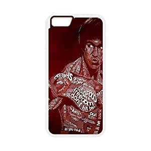 Bruce Lee iphone 6 4.7 Inch Cell Phone Case White Phone Accessories JV191175