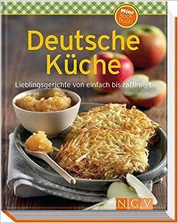 Deutsche Kuche Minikochbuch 9783625173908 Amazon Com Books