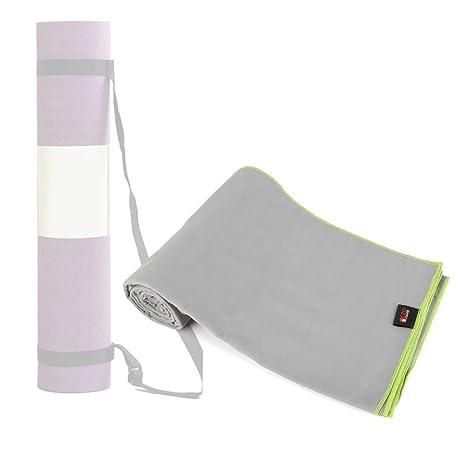 EZOWare Toalla de Microfibra Ultra Suave, con bolsa estuche de viaje: Amazon.es: Electrónica