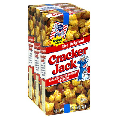 Cracker Jack Original Triples, 3 Count (Pack of 24)