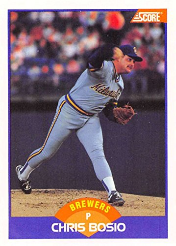 1993 Topps Finest #140 Chris Bosio Seattle Mariners Baseball Card Verzamelingen Honkbal