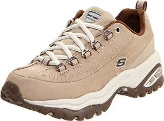 5fc2daa3 Skechers Sport Women's Premium Sneaker,Stone/Brown,6 M US ...