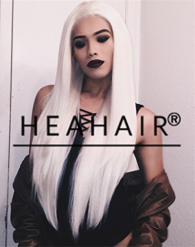 Heahair Hot Style Natural Looking Blonde Handtied Synthetic Lace Front Wig for Drag Queen (Halloween Costume Store In Nyc)