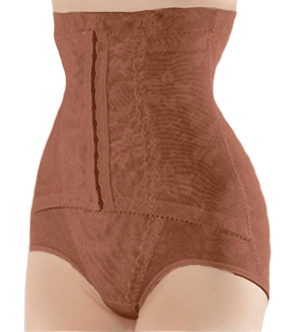 c542bd0ce10d ShaperQueen 1015 Women Waist Cincher Body Shaper Trainer Girdle Faja Tummy  Control Underwear Shapewear (Plus Size) at Amazon Women's Clothing store: