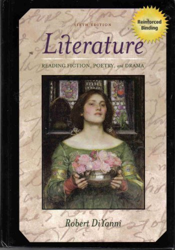 Literature Reading Fiction, Poetry and Drama 6th Revised edition by Diyanni, Robert published by Mcgraw-Hill College Hardcover