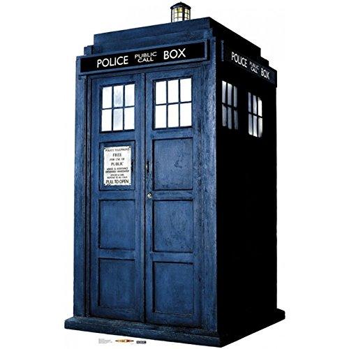 1/4 Sheet ~ Doctor Who Tardis Solo Birthday ~ Edible Cake Image Topper!!! -