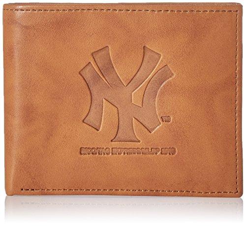 MLB New York Yankees Embossed Genuine Cowhide Leather ()