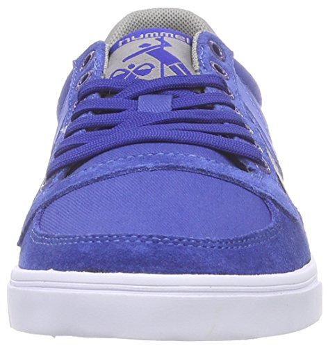 Unisex Canvas Sneaker Blau Low – Blue Limoges Top Stadil 8543 Hummel Blu Lo SL Adulto E0nYB