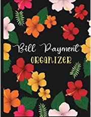 Bill Payment Organizer: Simple Monthly Bill Payments Tracker   Bill Checklist   Monthly Payment Planner Log Book