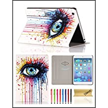iPad Mini 1/2/3 Case, Dteck(TM) Ultra Slim PU Leather Flip Smart Stand Case Cover with [Auto Wake/Sleep] for Apple iPad Mini 3/ 2/ 1 (Big Eye)