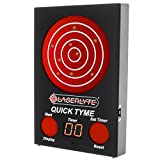 laser target pistol - LaserLyte Trainer Target Quick TYME with 62 LEDs That Light up Shot Timer Built in to Record Dry fire Laser Shots Laser Tracer FIRE The LEDs Light up in Order of Being Shot Buy a Laser Trainer