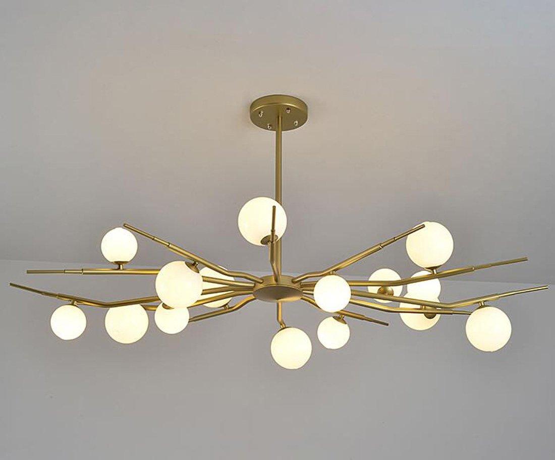 LED Postmodern Nordic Magic Bohnen Kugel Kronleuchter Kreative Wohnzimmer / Restaurant / Schlafzimmer Kronleuchter Dachbeleuchtung (ohne Lampen)