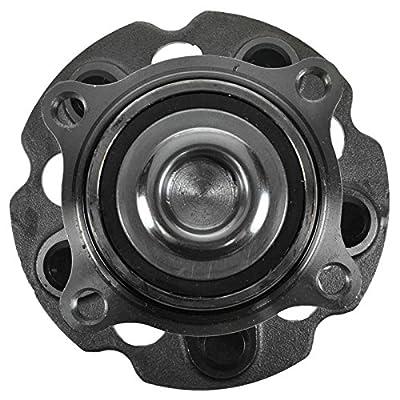 TRQ Rear Wheel Hub & Bearing Pair Set for 05-10 Honda Odyssey: Automotive