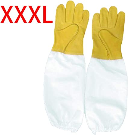 Extra Long Vented Beekeeping Gloves 3X-Large