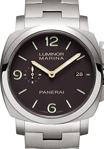 Panerai Men's PAM00352 Luminor Marina Brown Dial Watch by Panerai