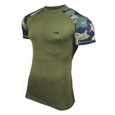 lowest price d7b7b e79b2 ROUGH RADICAL Funktionsshirt T-Shirt Militär FURIOUS ARMY SH