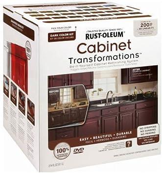 Amazon Com Rust Oleum 258242 Dark Tint Base Cabinet Transformations Kit Large Home Improvement